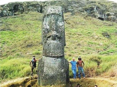 Что скрывает голова на острове Пасхи