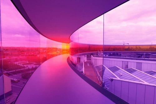 Радужная панорама Дании