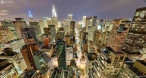 Топ-10: панорамные фото городов мира