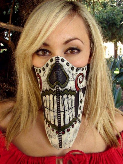 Веселые лыжные маски