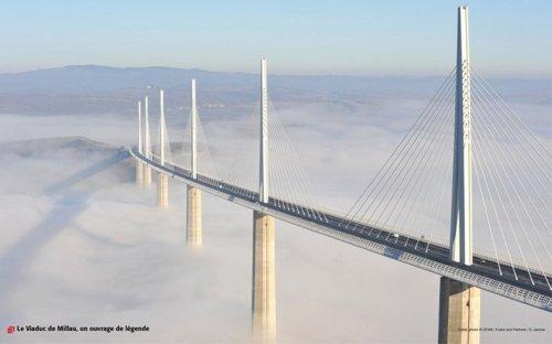 Виадук Мийо - самый высокий мост