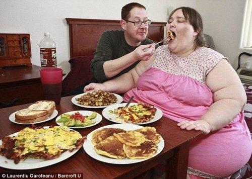 Самая толстая женщина выходит замуж по расчету