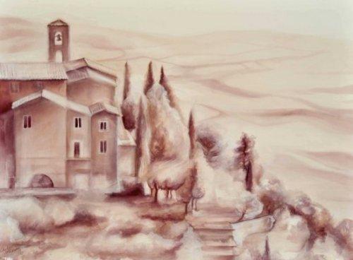 Картины вином