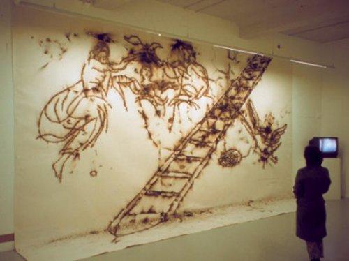 Рисунки порохом от Цай Го Цяна