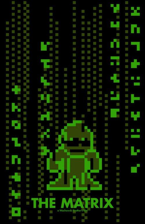 8-битные постеры