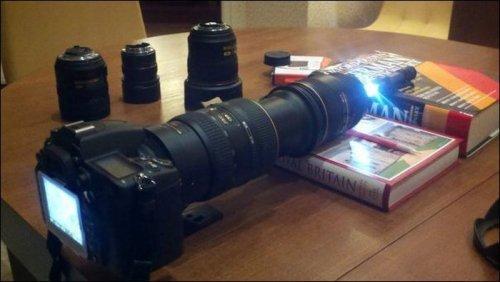 Микроскоп из фотоаппарата