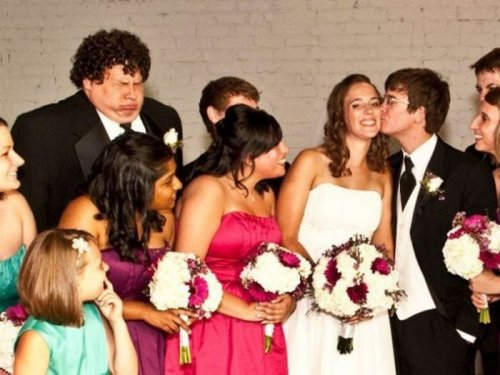 Смешные свадебные фотографии (30 шт)