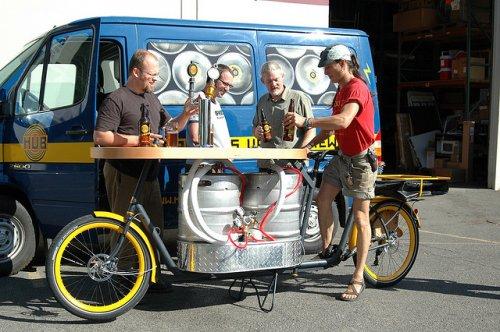 Прикольные велосипеды (9 фото)