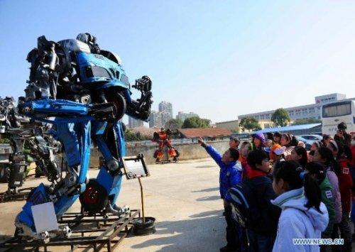 Парк трансформеров в Китае