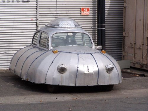 Необычные автомобили (20 фото)