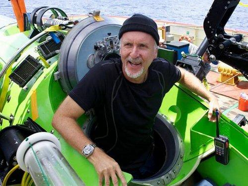 """Режиссер """"Титаника"""" совершил одиночное погружение на дно Марианской впадины"""