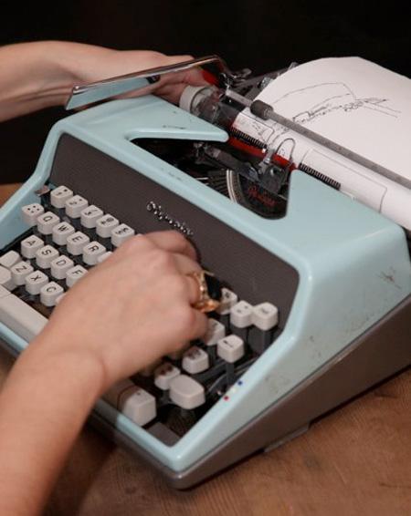 Картины, напечатанные пишущими машинками