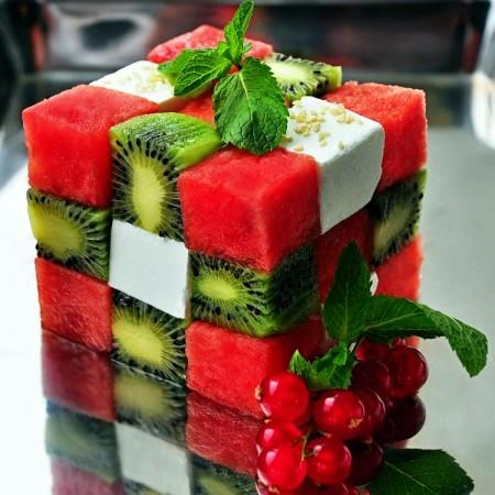 Необычные варианты кубика рубика