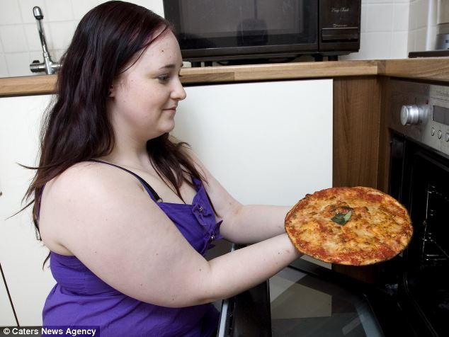 Моё пристрастие это пицца.