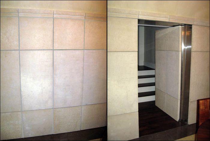 Как сделать потайную дверь