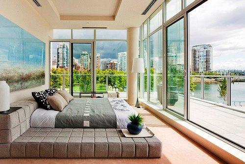 Восхитительный вид из окон спальни