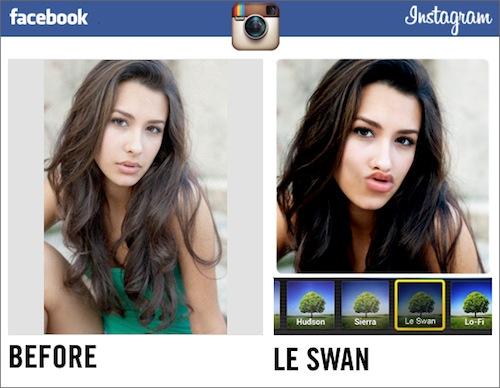Новые фильтры для Instagram на Facebook