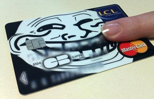 Необычный дизайн кредиток