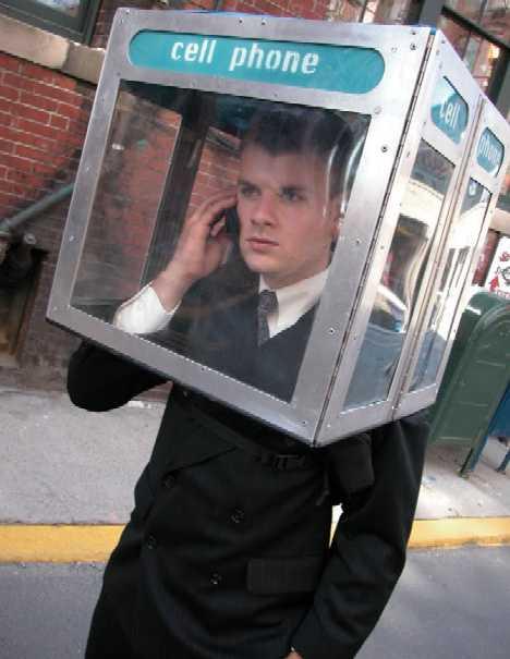 10 концептов телефонных будок