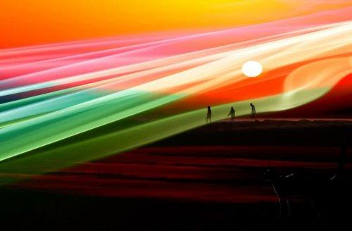 Абстрактные фотографии Джоша Адамски