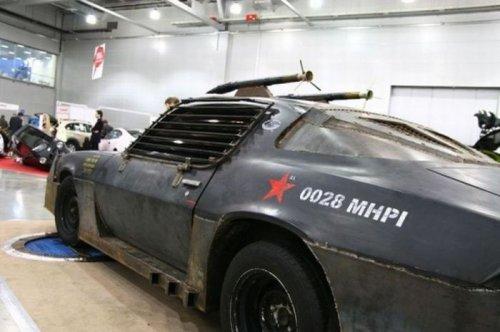 Броневик Chevrolet Camaro