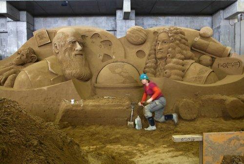 Выставка песочных скульптур