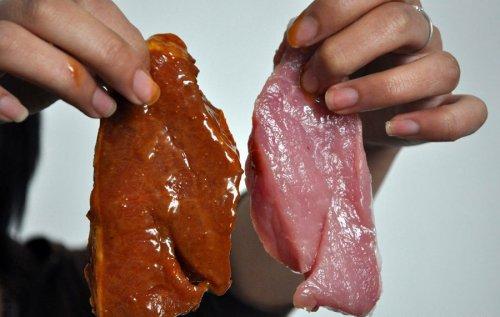 Китайская подделка мяса