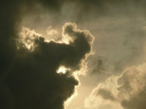 Самые интересные формы облаков