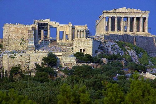 Эпохи в архитектуре: часть 2 - Античная архитектура.