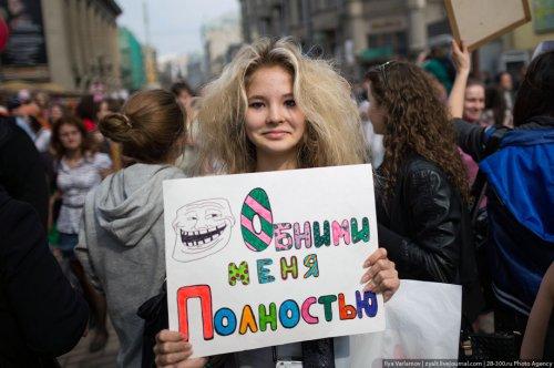 Парад мыльных пузырей в Москве
