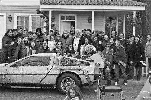 Съёмки легендарного фильма «Назад в будущее»