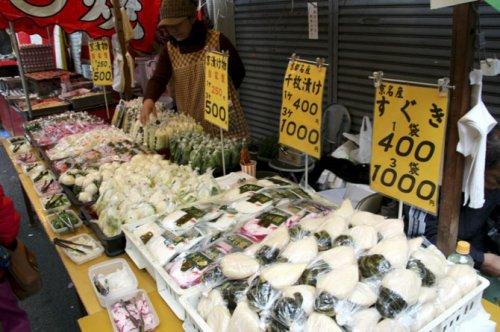 Уличный фаст-фуд в Японии