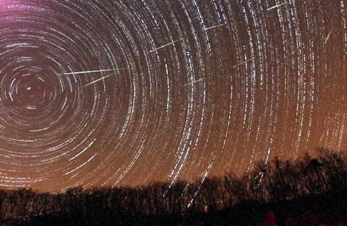 Удивительные метеоритные ливни