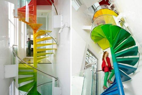 Уникальные лестницы