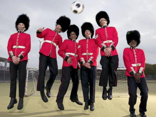 Подготовка лондонских гвардейцев к Олимпиаде