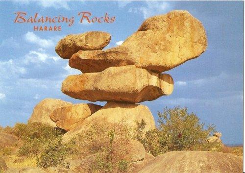 Самые известные балансирующие камни