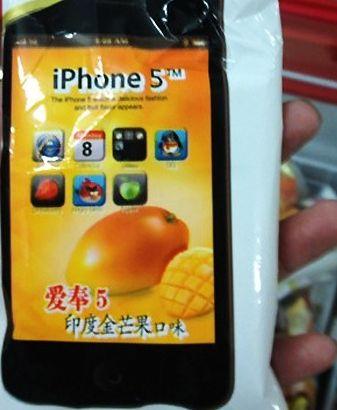 Китайский iPhone 5 уже в продаже
