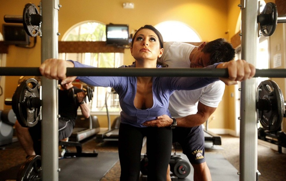 смотреть фото девушек фитнес