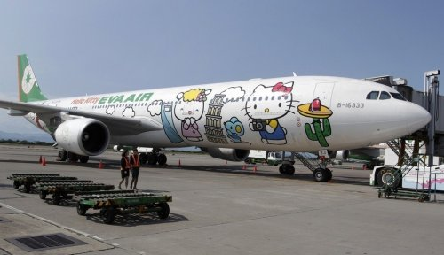 Авиалинии Hello Kitty