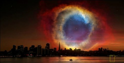 Невероятные виды ночного неба Земли