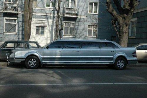 Шикарный украинский лимузин