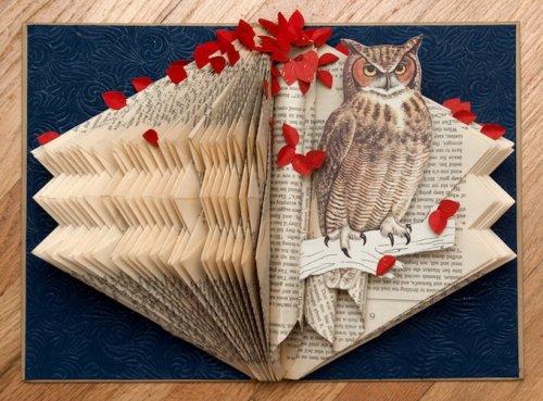 Необычные композиции из книг от Рэйчел Аше
