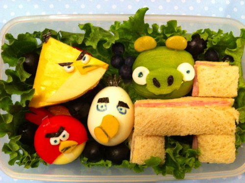 Креативные завтраки для любимого сына