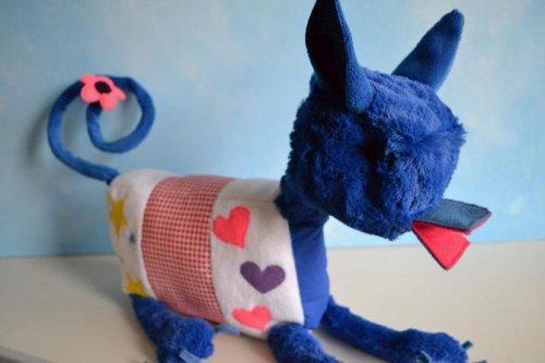 Мягкие игрушки, созданные по детским рисункам