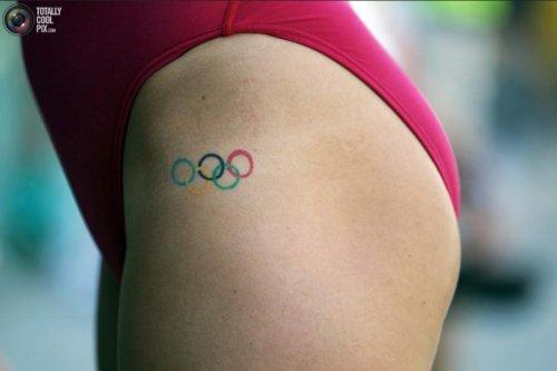 Интересные олимпийские татуировки