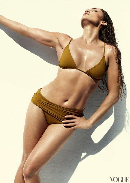 Дженнифер Лопес для журнала Vogue US