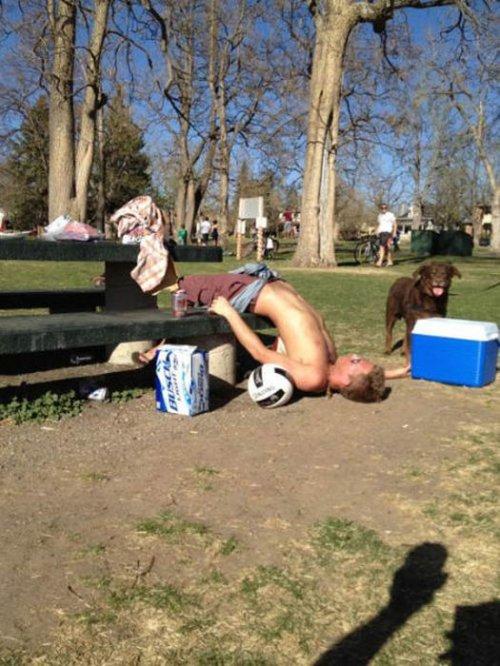 Пьяные отжиги