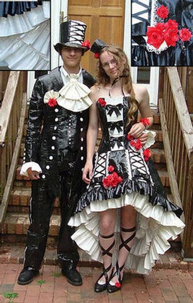 Фото самых странных выпускных платьев