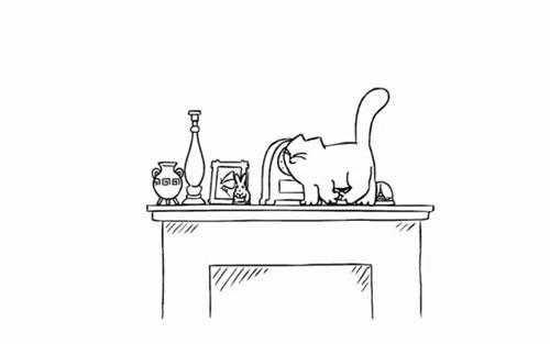 Кот Саймона: Жизнь на полке