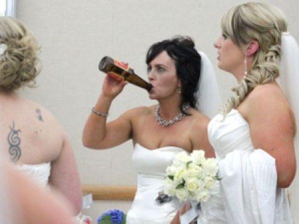 Невесту пьяную готовят видео